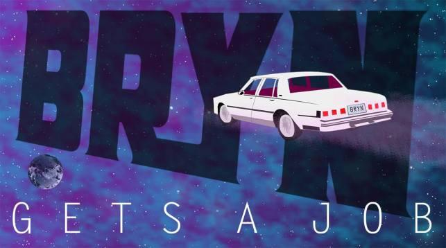 'Bryn Goes to Space' (Artist: Cameron Logan)
